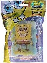 """Parfumuri și produse cosmetice Burete de baie """"SpongeBob"""", SpongeBob zâmbește - Suavipiel Sponge Bob Bath Sponge"""