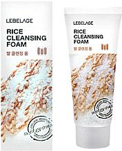 Parfumuri și produse cosmetice Spumă de orez pentru curățarea faței - Lebelage Rice Cleansing Foam