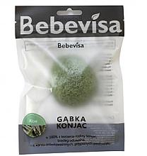 """Parfumuri și produse cosmetice Burete pentru curățarea feței """"Aloe"""" - Bebevisa Konjac Sponge"""