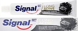 Parfumuri și produse cosmetice Pastă de dinți - Signal Long Active Nature Elements Charcoal