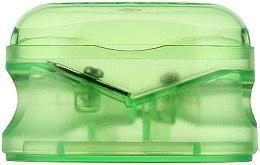 Parfumuri și produse cosmetice Ascuțitoare dublă pentru creioane, verde deschis - Essence Sharpener