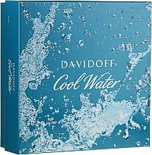 Parfumuri și produse cosmetice Davidoff Cool Water - Set (edt/75ml + sh/gel/50ml + ash/balm/50ml)