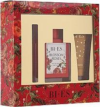 Parfumuri și produse cosmetice Bi-Es Blossom Roses - Zestaw (edp/100 ml + sh/gel/50ml + parf/12ml)