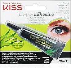 Parfumuri și produse cosmetice Adeziv cu extract de aloe pentru gene false - Kiss Strip Lash Adhesive Black