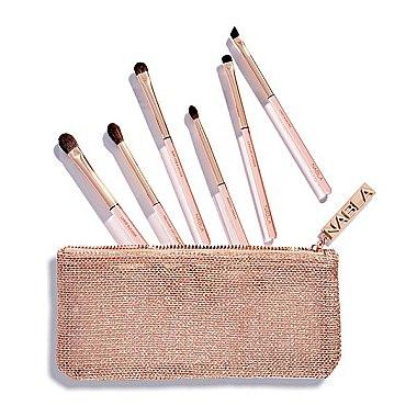 Set pensule de machiaj în trusă cosmetică - Nabla Denude Eye Brush Set