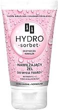 Parfumuri și produse cosmetice Gel de curățare pentru ten uscat și normal - AA Hydro Sorbet Moisturizing Face Wash Gel