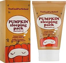Parfumuri și produse cosmetice Mască de noapte cu extract de dovleac - Too Cool For School Pumpkin Sleeping Pack