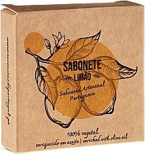 "Parfumuri și produse cosmetice Săpun natural ""Lămâie"" - Essencias De Portugal Senses Lemon Soap With Olive Oil"