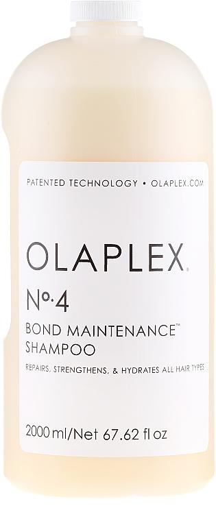 Șampon regenerant pentru toate tipurile de păr - Olaplex Professional Bond Maintenance Shampoo №4 — Imagine N2