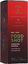 Parfumuri și produse cosmetice Supliment alimentar - You & Oil Food Shots Rose Hibiscus + Pomegranate Hydration Complex