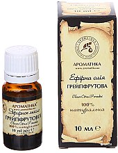 """Parfumuri și produse cosmetice Ulei esențial """"Grapefruit"""" - Aromatika"""