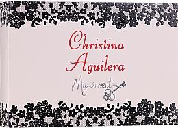 Parfumuri și produse cosmetice Christina Aguilera - Set (edp/10ml + edp/10ml + bag)