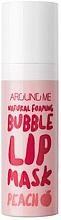 Parfumuri și produse cosmetice Mască Bubble pentru buze - Welcos Natural Foaming Bubble Lip Mask Peach