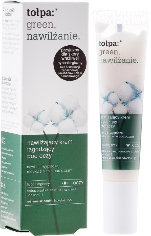 Cremă hidratantă calmantă pentru pleoape - Tolpa Green Hydration Moisturizing Soothing Eye Cream