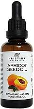Parfumuri și produse cosmetice Ulei de sâmburi de caise - Hristina Cosmetics Pure Apricot Seed Oil