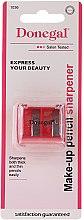 Parfumuri și produse cosmetice Ascuțitoare dublă pentru creioane, 1036, roșie - Donegal