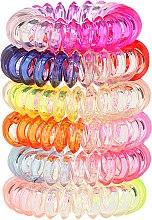 Parfumuri și produse cosmetice Elastice de păr Wire 6 buc., 22562 - Top Choice
