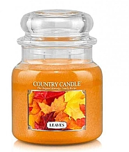 Parfumuri și produse cosmetice Lumânăre aromată - Country Candle Leaves