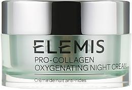"""Parfumuri și produse cosmetice Cremă de noapte pentru față """"Oxigen"""" - Elemis Pro-Collagen Oxygenating Night Cream"""