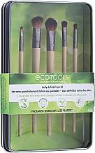 """Parfumuri și produse cosmetice Set pensule pentru machiaj """"1627"""", 5 bucăți - Ecotools Daily Defined Eye Kit"""