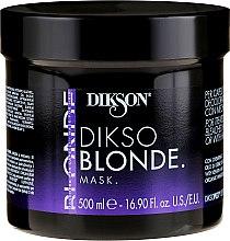 Parfumuri și produse cosmetice Mască de păr - Dikson Dikso Blonde Mask