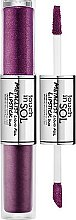 Parfumuri și produse cosmetice Ruj de buze  - Touch In Sol Metallist Liquid Foil Lipstick Duo