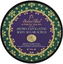 Parfumuri și produse cosmetice Scrub cu ulei de orez și Aloe Vera pentru corp - Sabai Thai Rice Milk Aroma Exfoliating Body Sugar Scrub
