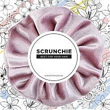 "Parfumuri și produse cosmetice Elastic de păr, velur, roz pudrat ""Velour Classic"" - MakeUp Hair Accessories"