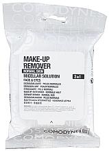 Parfumuri și produse cosmetice Șervețele de curățare pentru pielea normală - Comodynes Make-up Remover Micellar Solution 3in1