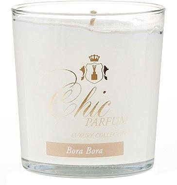 Lumânare parfumată - Chic Parfum Luxury Collection Bora Bora Candle — Imagine N1