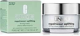 Parfumuri și produse cosmetice Cremă de față cu efect de fermitate - Clinique Repairwear Uplifting Firming Cream SPF15 Skin Type 2,3