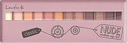 Parfumuri și produse cosmetice Paleta fard de pleoape - Lovely Classic Nude Make Up Kit