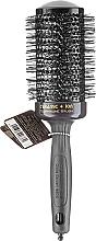 Parfumuri și produse cosmetice Perie Thermo Brush 55mm - Olivia Garden Ceramic+ion Thermal Brush Black d 55
