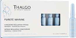Parfumuri și produse cosmetice Ser facial, ampule - Thalgo Purete Marine Intense Regulating