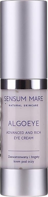 Cremă pentru zona din jurul ochi - Sensum Mare Algoeye Advanced And Rich Eye Cream (tester) — Imagine N1