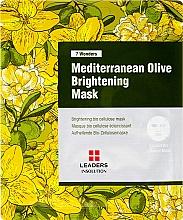 Parfumuri și produse cosmetice Mască de față - Leaders 7 Wonders Mediterranean Olive Brightening Mask