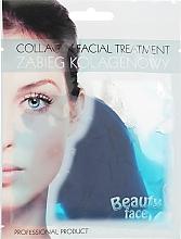 Parfumuri și produse cosmetice Mască de colagen cu alge marine - Beauty Face Collagen Hydrogel Mask