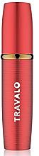 Parfumuri și produse cosmetice Atomizor, roșu - Travalo Lux Red Refillable Spray