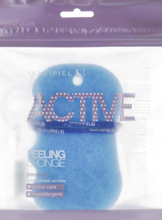 Burete de baie, albastru - Suavipiel Active Esponja Peeling