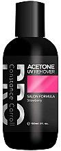 Parfumuri și produse cosmetice Soluție pentru îndepărtarea ojei - Constance Carroll Aceton UV Remover Strawberry