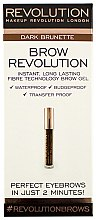 Parfumuri și produse cosmetice Gel pentru sprâncene - Makeup Revolution Brow Revolution Gel