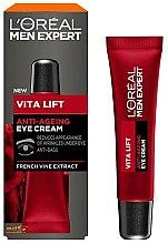 Parfumuri și produse cosmetice Cremă pentru zona ochilor - L'Oreal Paris Men Expert Vita Lift Anti-Ageing Eye Cream