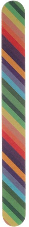Pilă de unghii, 2056, 17.8 cm, curcubeu - Donegal