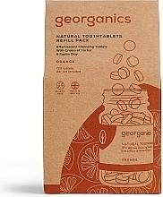 """Parfumuri și produse cosmetice Tablete pentru igiena orală """"Portocală"""" - Georganics Natural Toothtablets Orange (rezervă)"""