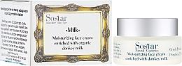 Parfumuri și produse cosmetice Cremă hidratantă pentru față - Sostar Moisturizing Face Cream Enriched With Donkey Milk