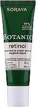 Parfumuri și produse cosmetice Ser cu efect de super netezire pentru față - Soraya Botanic Retinol Smoothing Super Serum