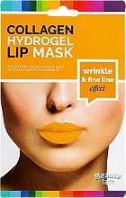 Parfumuri și produse cosmetice Mască cu colagen pentru buze - Beauty Face Collagen Hydrogel Lip Mask Wrinkle Smooth Effect