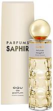 Parfumuri și produse cosmetice Saphir Parfums Muse Night - Apă de parfum