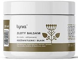 Parfumuri și produse cosmetice Balsam nutritiv cu aur pentru corp - Lynia