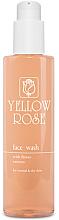 Parfumuri și produse cosmetice Gel de curățare cu extracte florale, pentru piele normală și uscată - Yellow Rose Face Wash With Flower Extracts